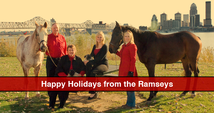 Ramsey family holiday card